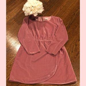 J. Crew Velvet Tulip Hem Dress (NWOT)